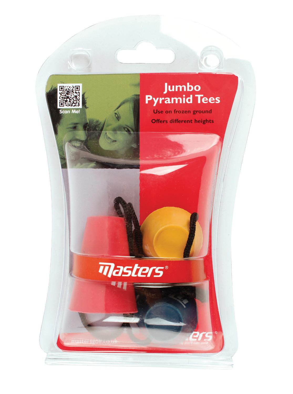 Masters Golf Jumbo Pyramid Tees