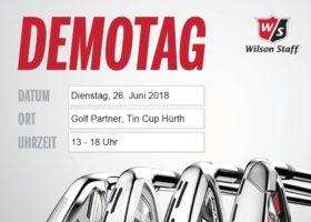 Wilson Demo Tag – 26.06.2018 bei GolfPartner – Golfanlage TinCup in Hürth-Fischenich